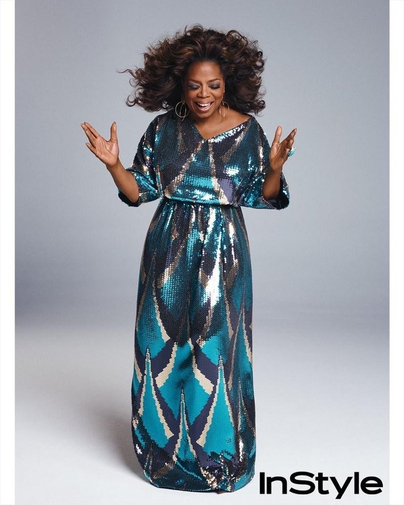 Oprah Winfrey 3 - Oprah Winfrey Covers March 2018 Issue Of Instyle Magazine - SEE PHOTOS