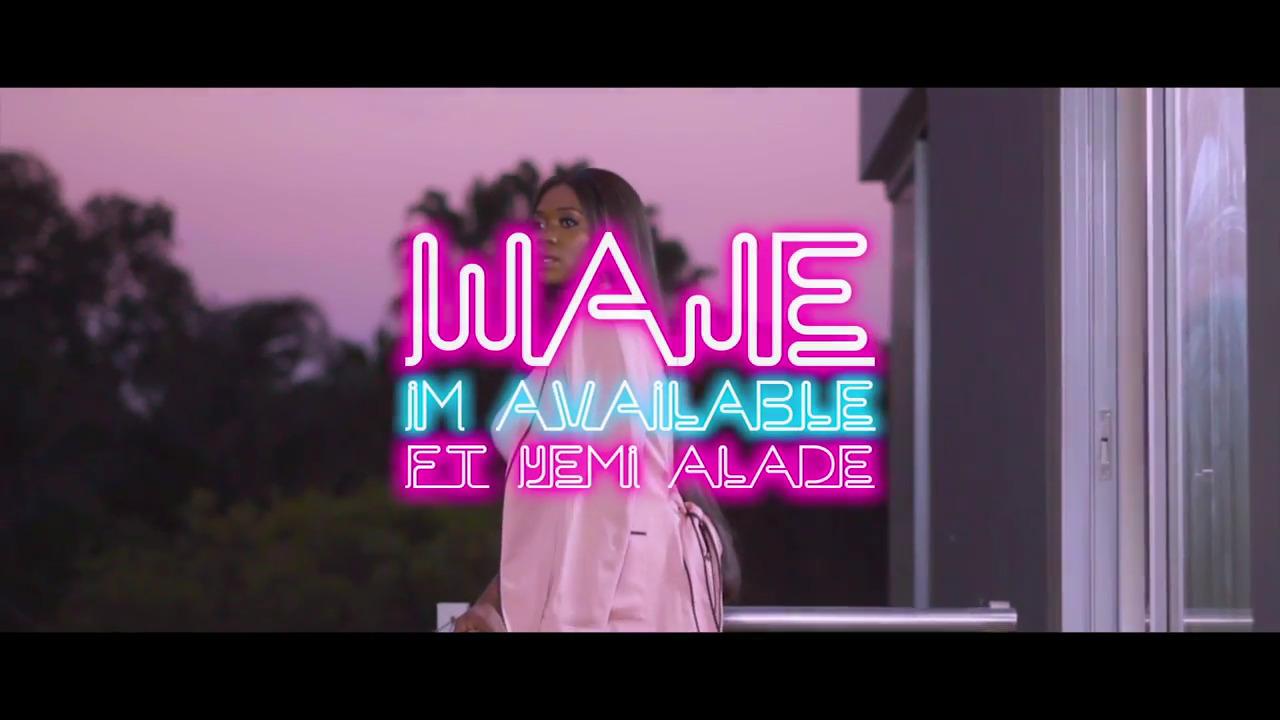 Waje Im Available Yemi Alade Video - VIDEO: Waje – I'm Available ft. Yemi Alade