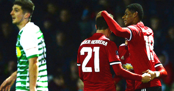 Yeovil Town v Manchester United The Emirates FA Cup Fourth Round 3 - VIDEO: Yeovil Town 0-4 Manchester United (FA CUP) Highlights