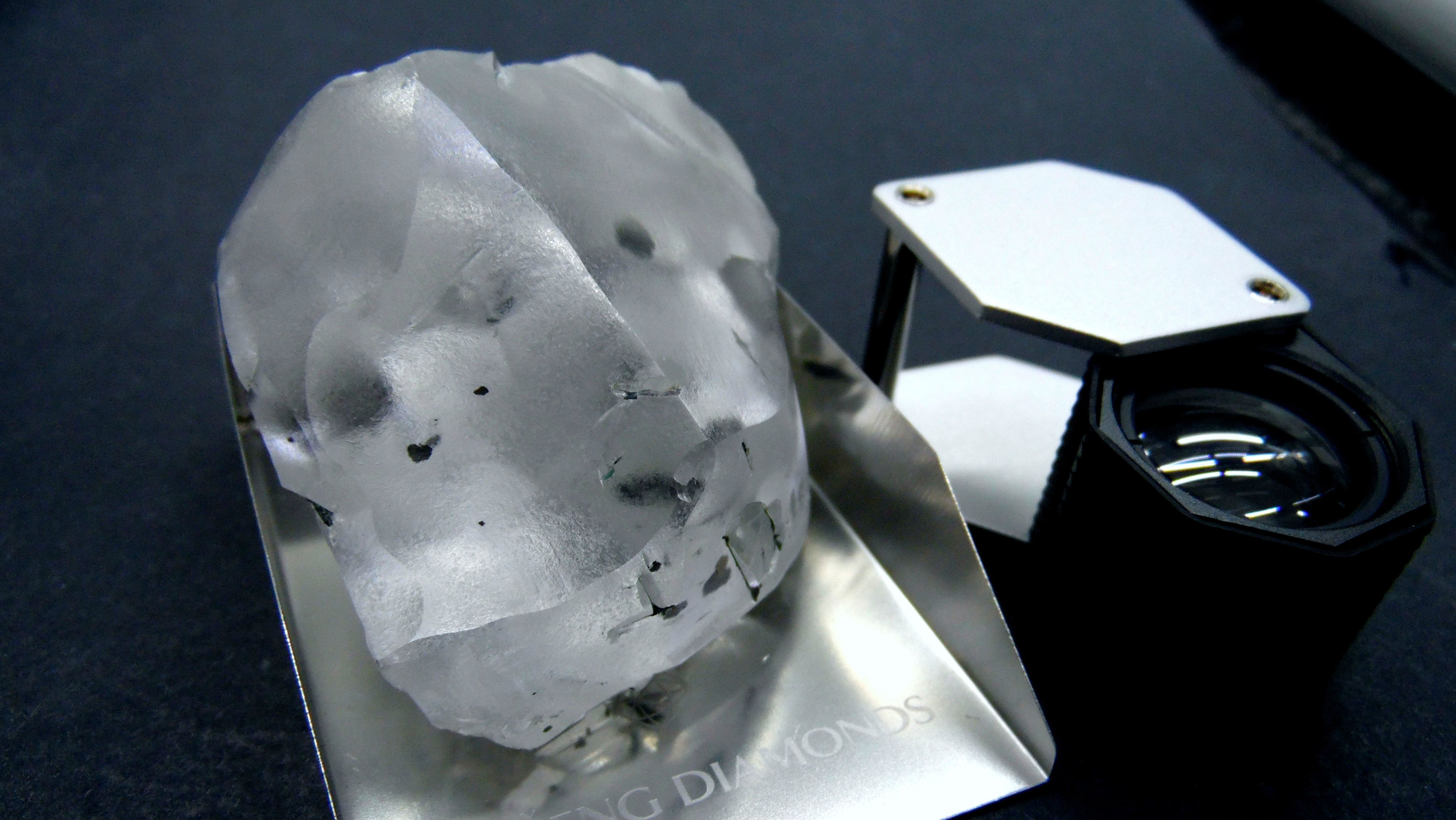 diamond found in lesotho