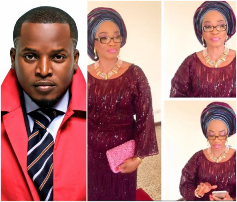 "Photo of Rapper Eldee ""The Don"" Loses His Mother-in-Law"