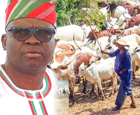 Photo of Fayose Summons Meeting After A Fulani Herdsman Was Killed in Ekiti
