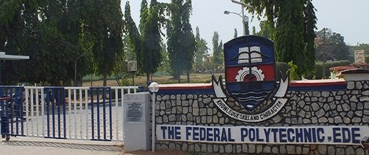 main1 - Federal Polytechnic Ede (EDEPOLY) 2017/2018 Students' Registration Procedure