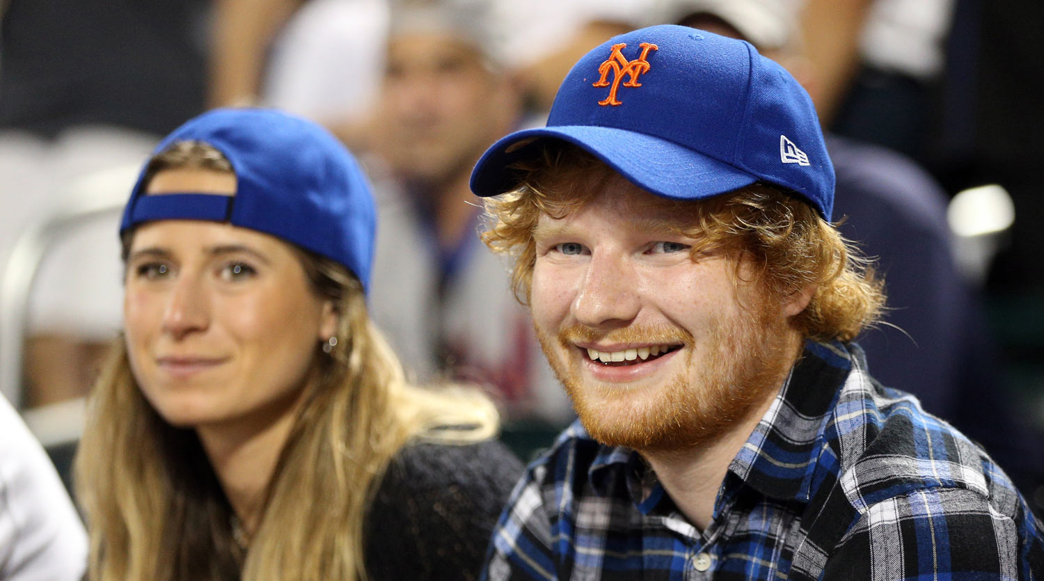 sheeran - Ed Sheeran Engaged to Long-Time Girlfriend Cherry Seaborn