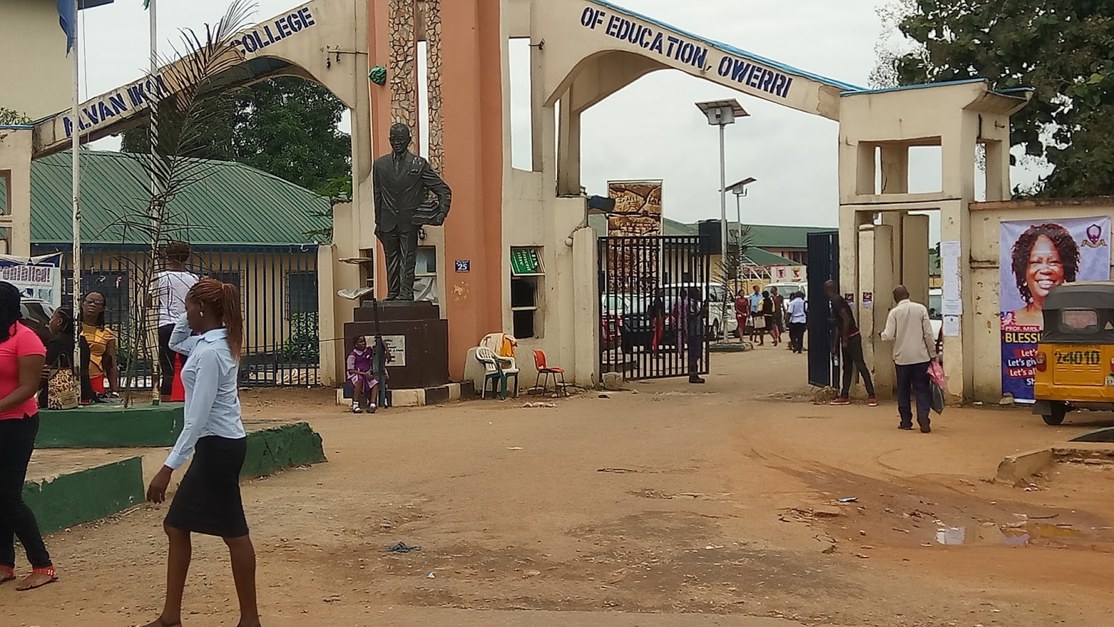 Photo of Alvan Ikoku Federal College of Education 2017/2018 Matriculation Ceremony Announced