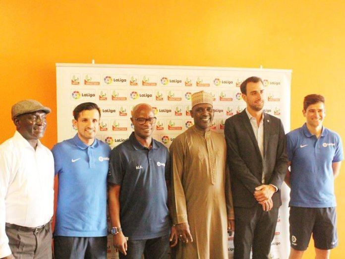 Assistant technical directo - NPFL-LaLiga U-15 Coaching Seminar officially kicks off in Abuja