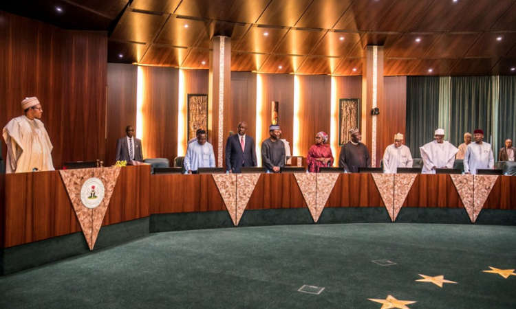 Buhari FEC 1 - 7/2/18: Buhari Presides Over FEC Meeting - PHOTOS