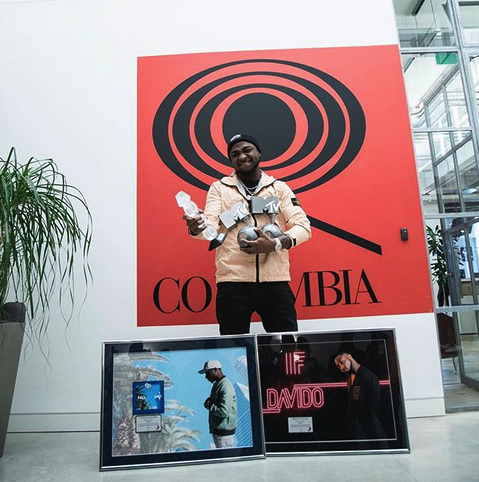 Davido IF Platinum OkayNG - Davido's 'If' Hits Diamond, 'Fall' Goes Platinum In Sales
