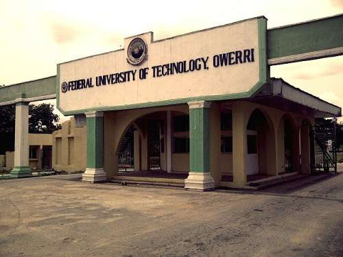 Federal University of Technology Owerri 3 - Federal University of Technology Owerri (FUTO) 2017/2018 Pre-degree Supplementary Admission Lists Released