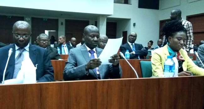 Photo of Ibrahim Magu Appears Before Reps Over Recovered Looted Funds