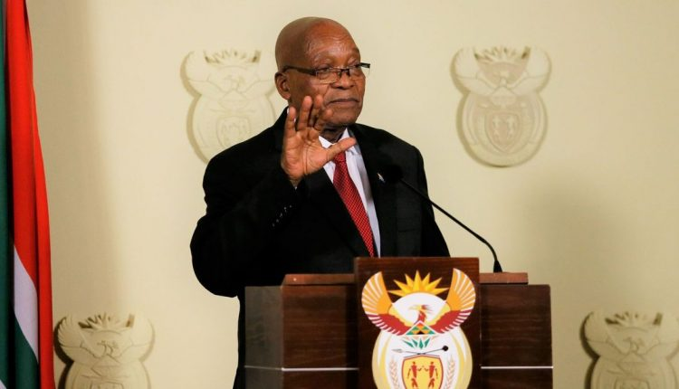 Jacob Zuma Resigns