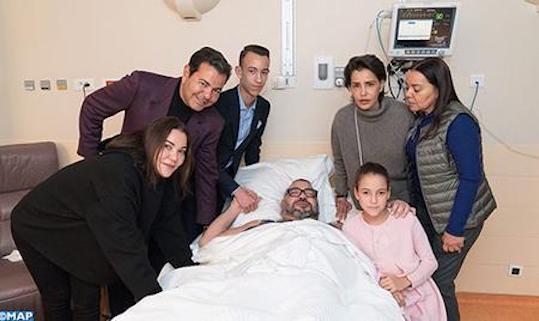 Photo of Morocco's King Mohammed Undergoes Heart Surgery