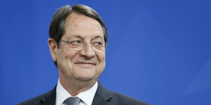 Photo of Cyprus President Nicos Anastasiades Re-elected
