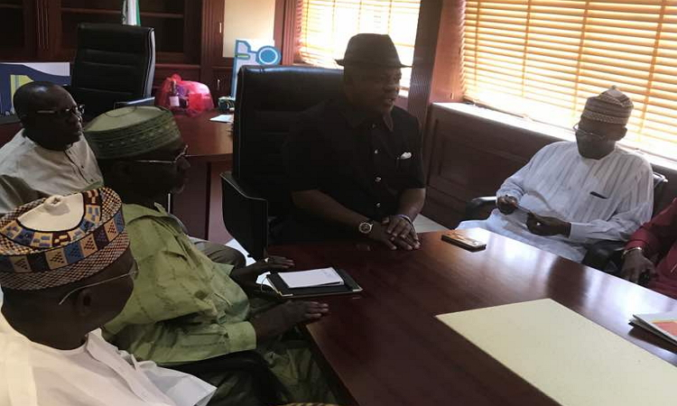 Photo of PHOTOS: Uche Secondus Meets PDP Former Governors In Abuja