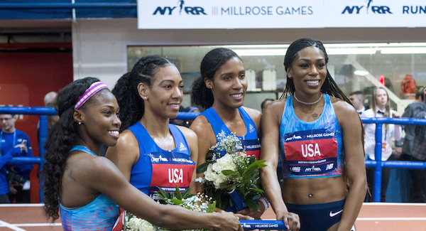 Photo of US Women Break 4x800m Relay Record at Millrose Games