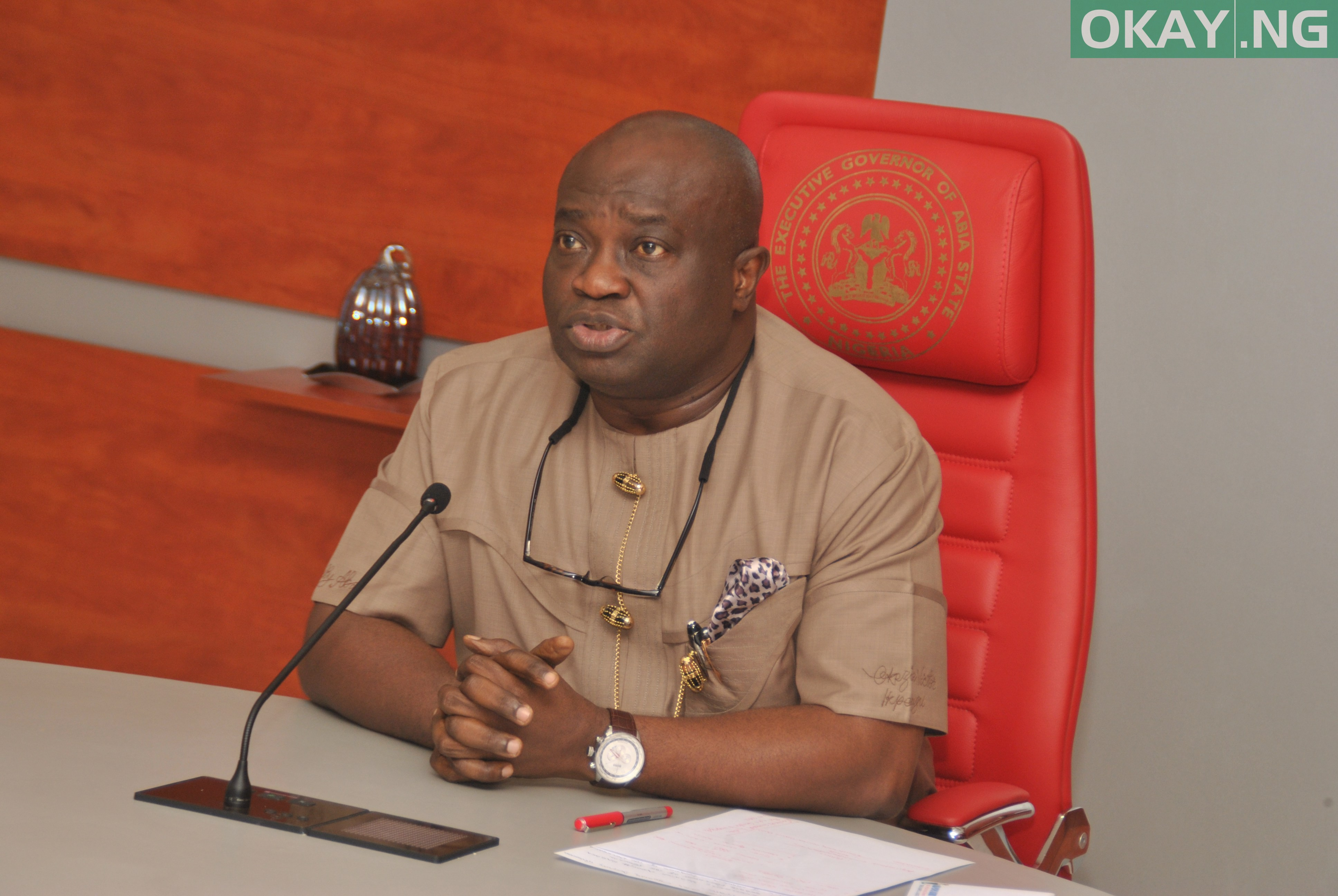 Photo of Abia: Ikpeazu dissolves cabinet, retains six commissioners out of 27