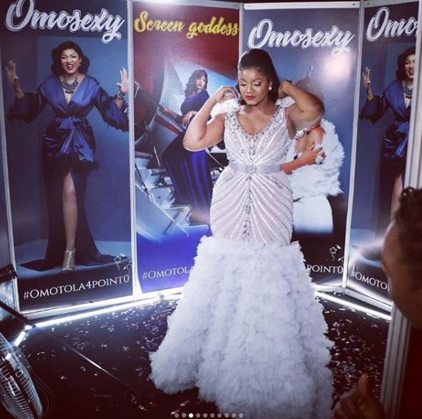 aam4 1 - Photos: Checkout the Expensive Dress Actress Omotola Wore On Her Birthday