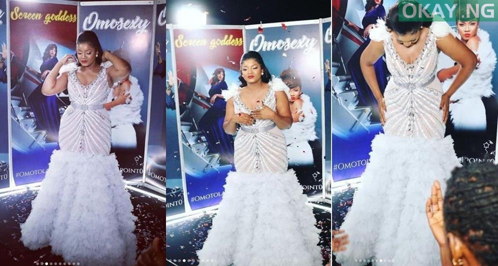 aam4 tile - Photos: Checkout the Expensive Dress Actress Omotola Wore On Her Birthday