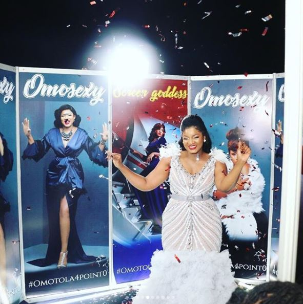 aam6 - Photos: Checkout the Expensive Dress Actress Omotola Wore On Her Birthday