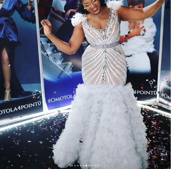aam7 - Photos: Checkout the Expensive Dress Actress Omotola Wore On Her Birthday