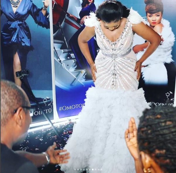 aam8 - Photos: Checkout the Expensive Dress Actress Omotola Wore On Her Birthday