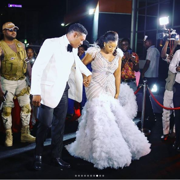 aam9 - Photos: Checkout the Expensive Dress Actress Omotola Wore On Her Birthday