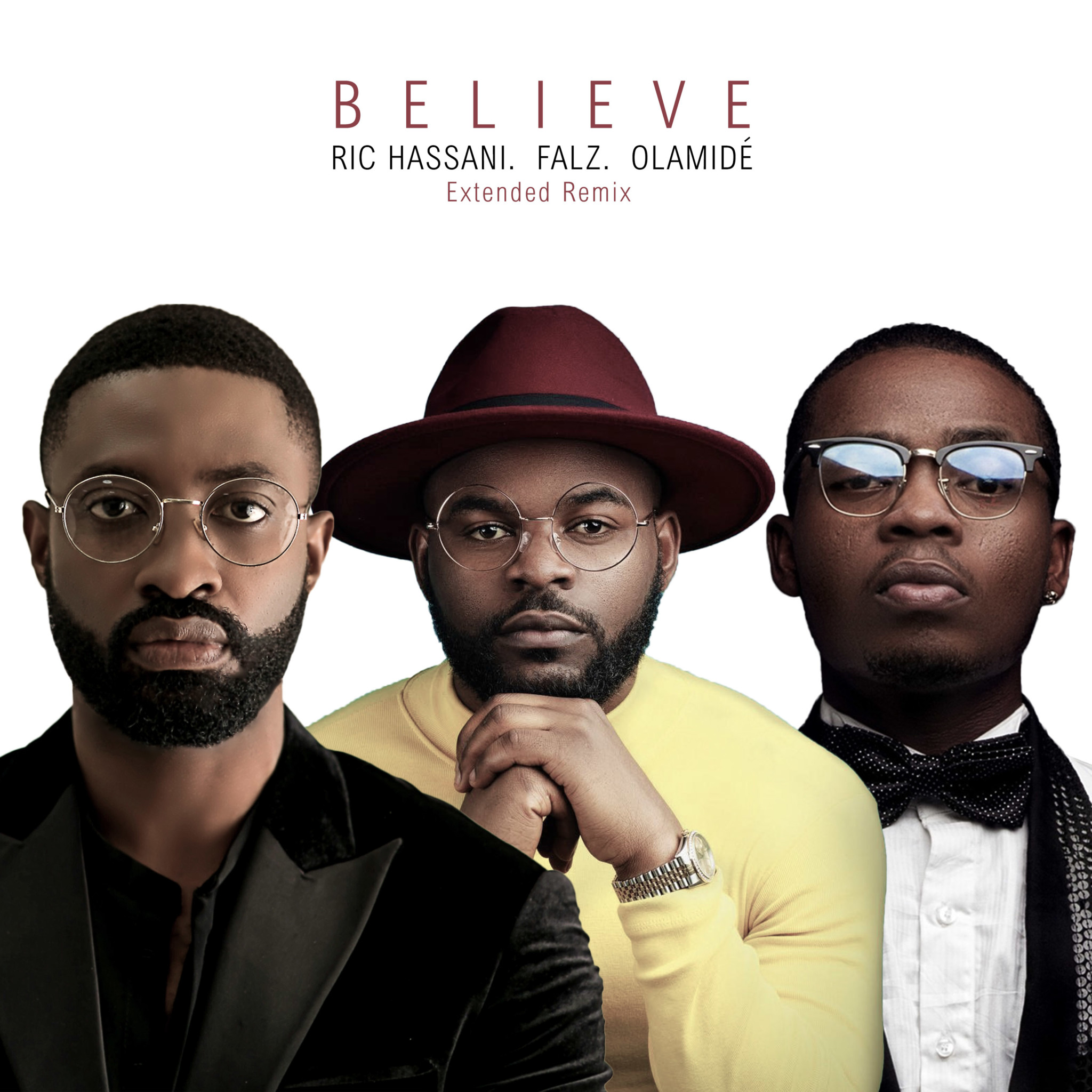 Photo of MUSIC: Ric Hassani  – Believe (Extended Remix) ft. Falz & Olamide