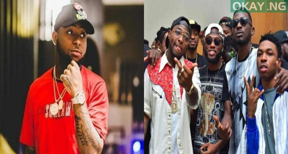 dad 13 - Nigerian popstar, Davido Set To launch Record Label For All The Artistes He Signed
