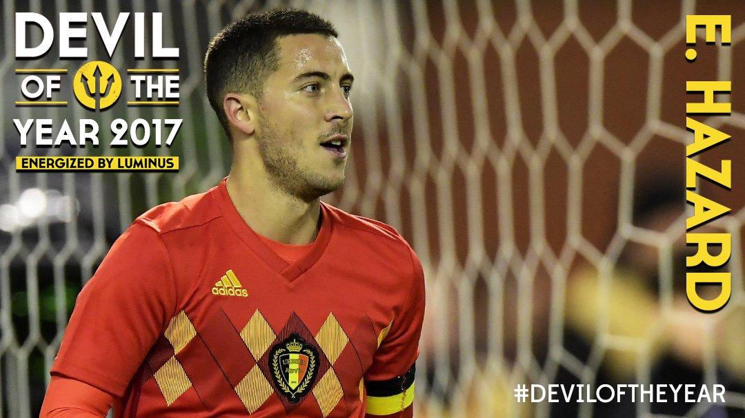 Photo of Chelsea's Eden Hazard beats De Bruyne, Lukaku, Mertens, Courtois to Win Belgian Footballer Abroad award
