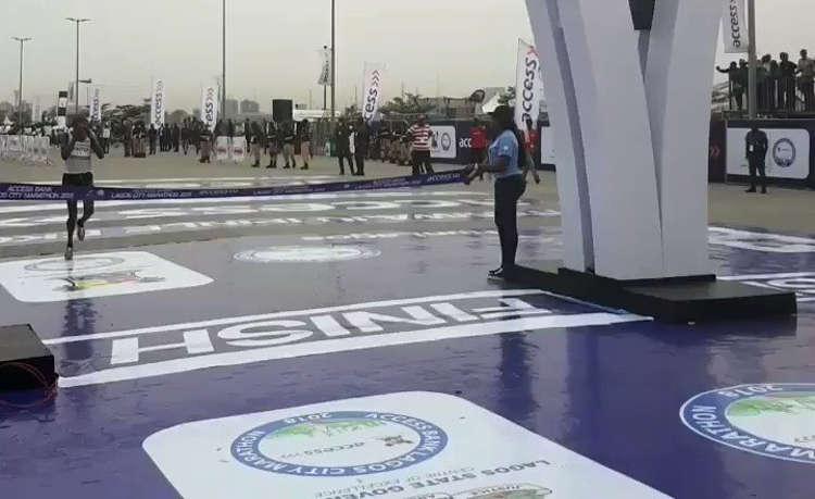lagos marathon 3 - Abraham Kiprotich Wins 2018 Lagos City Marathon