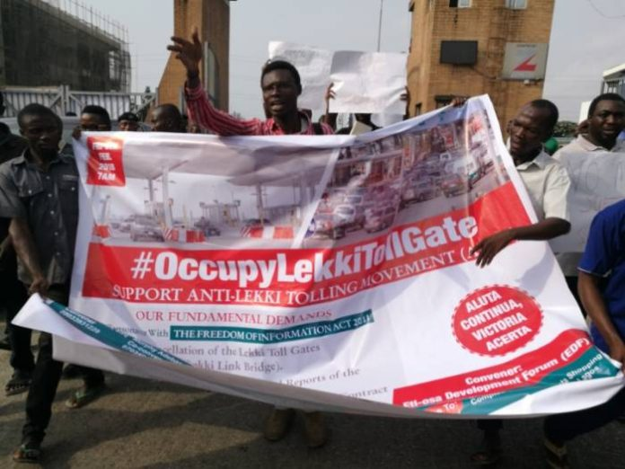 Photo of Lekki, Ajah Residents Protest Toll Hikes