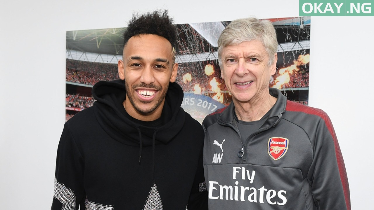 pierre emerick aubameyang arsene wenger - Arsenal vs Man City: What I expect from Aubameyang in Carabao Cup final – Wenger