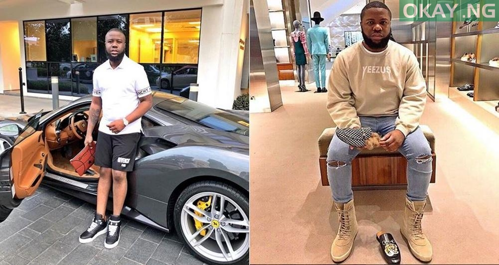 snsjs tile - Hushpuppi reveals one thing he misses the most.