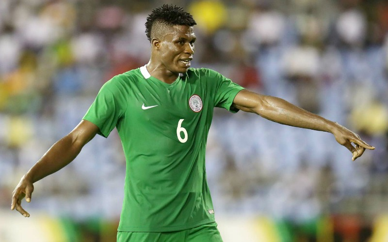stephen eze new solo 800 - Super Eagles coach Gernot Rohr Picks Two CHAN Eagles for 2018 World Cup