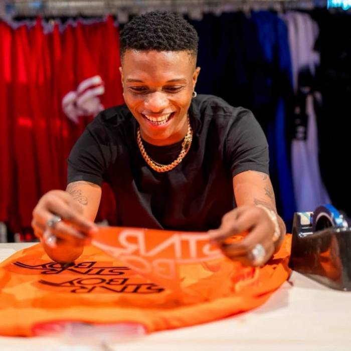 Photo of Wizkid Signs Deal with Nike to Produce StarBoy Jerseys
