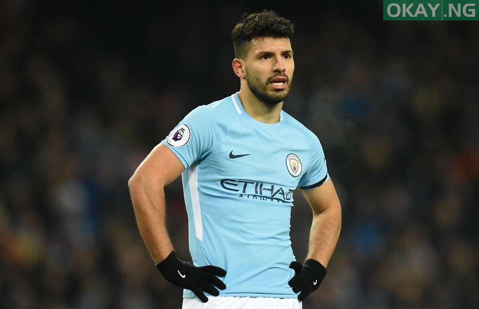 Sergio Aguero Out Of Manchester City's Game Against Stoke