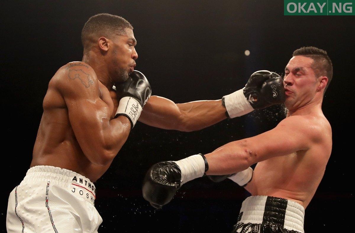 Anthony Joshua Beats Joseph Parker