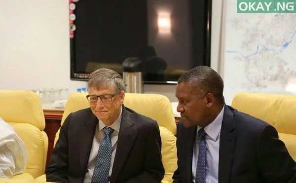 Photo of Aliko Dangote Amazingly Generous with his Resources and Time – Bill Gates