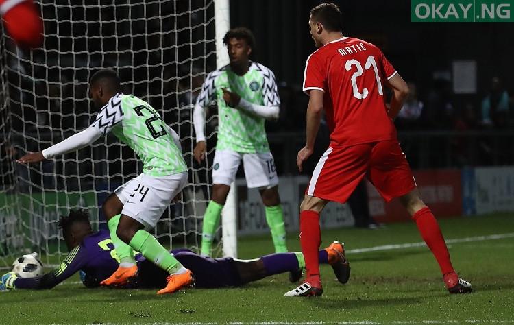 Nigeria 0-2 Serbia