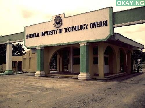 Federal University of Technology Owerri - Federal University of Technology, Owerri (FUTO) 2017/2018 Postgraduate Admission List