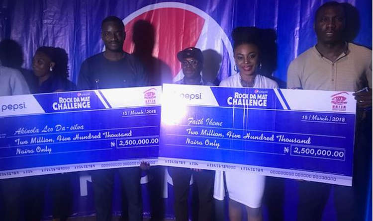 Photo of #BBNaija: Pepsi Rewards Ifu Ennada, Leo With N5million – PHOTOS