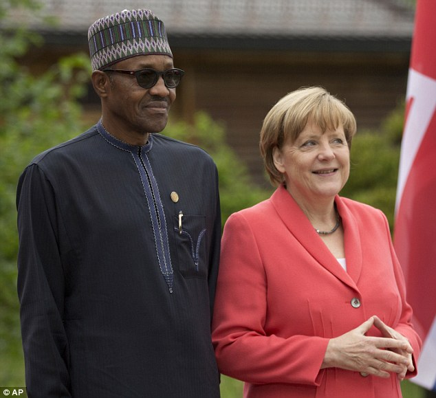Photo of President Buhari Congratulates German Chancellor Angela Merkel On Re-election