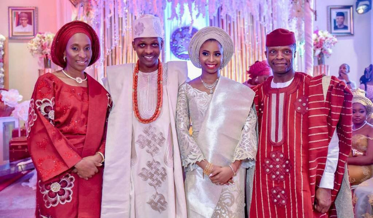 Photo of PHOTOs From VP Yemi Osinbajo's Daughter's Engagement In Abuja