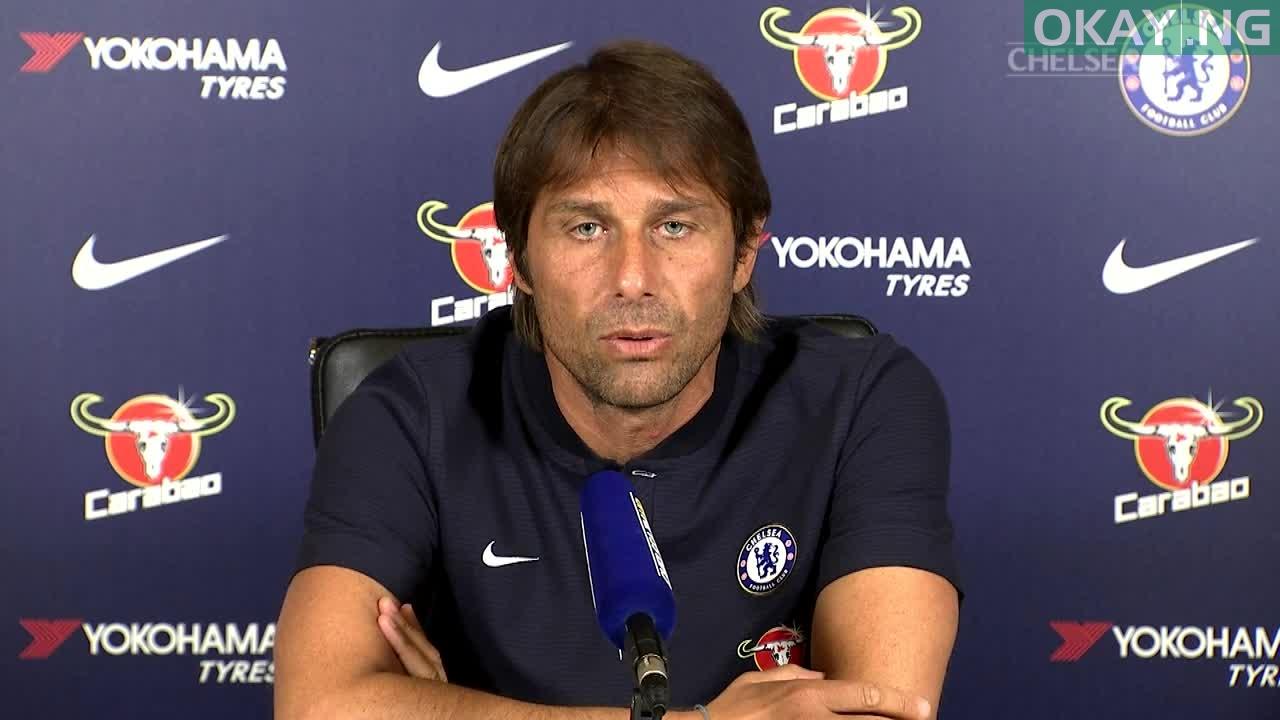Photo of Antonio Conte speaks on starting Olivier Giroud or Alvaro Morata against Crystal Palace