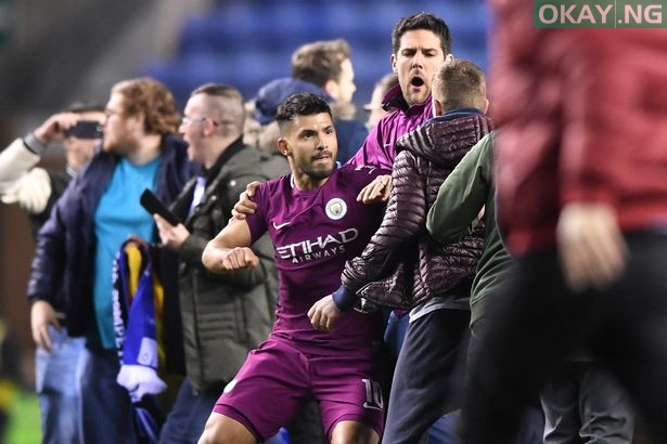 Wigan Athletic v Manchester City The Emirates FA Cup Fifth Round - FA Cup fined Manchester City £50,000 for failing to control players against Wigan