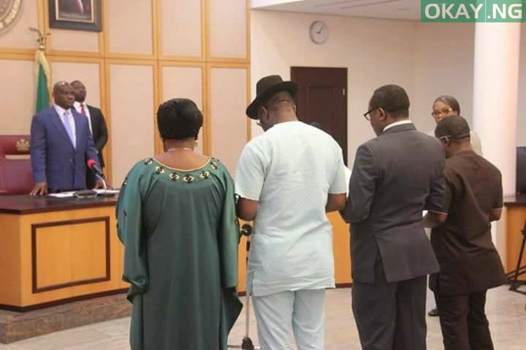 Photo of Gov. Wike Swears-in Four New Commissioners
