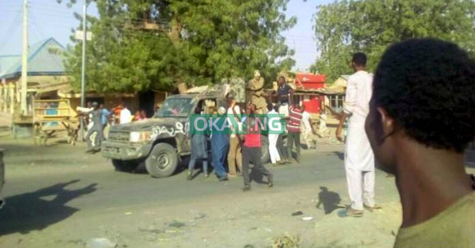 Photo of More PHOTOS: Dapchi Residents Hailing, Shaking Hands with Boko Haram Terrorists