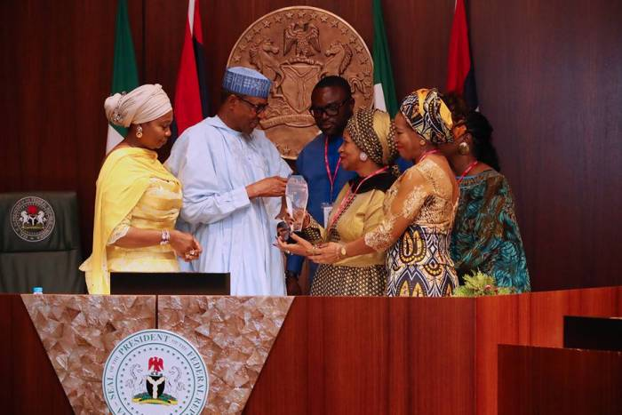 Photo of President Buhari's Award Plaque Not From Martin Luther King Centre – Presidency Clarifies