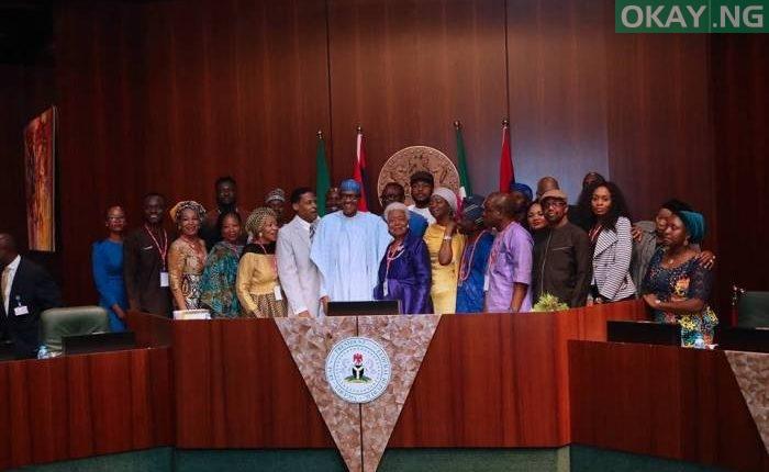 Buhari and Martin Luther King Jnr
