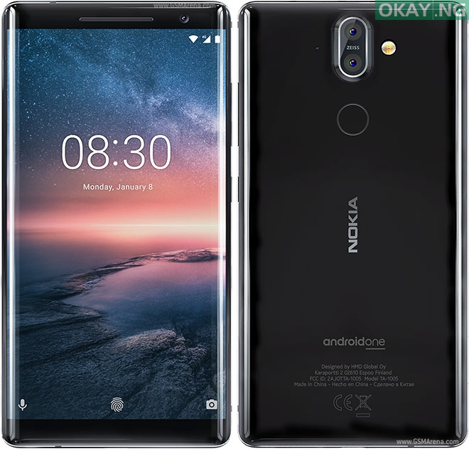 Photo of Nokia 8 Sirocco Smartphone Full Specifications and Price Tag In Nigeria